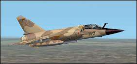 Mirage F1CR by Kirk Olsson. Click to read review and download.
