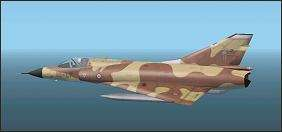 Mirage IIIC by Jason Ashworth. Repaint by Alexandre Cadel and weathered by Y-Raymond. Click to go to download page.